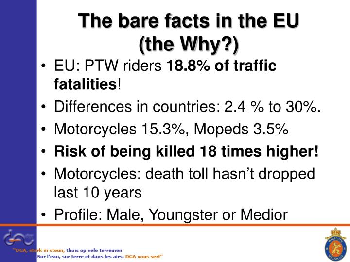 The bare facts in the EU