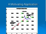 a motivating application