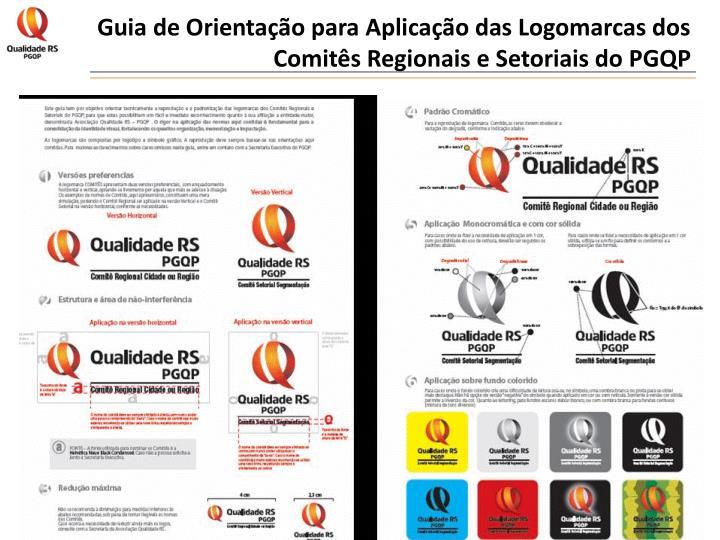 Guia de Orientação para Aplicação das Logomarcas dos