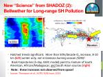 new science from shadoz 2 bellwether for long range sh pollution