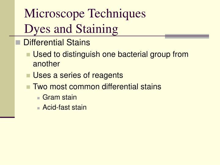 Microscope Techniques