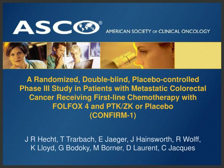A Randomized, Double-blind, Placebo-controlled