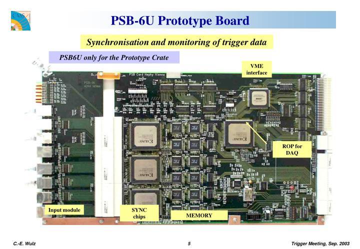 PSB-6U Prototype Board