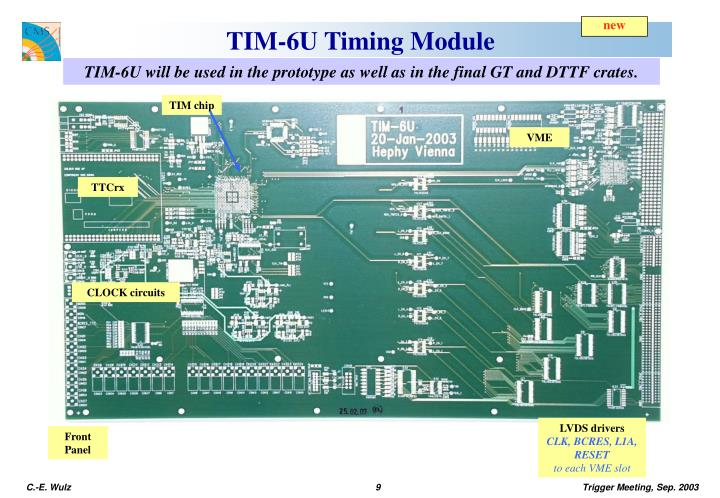 TIM chip