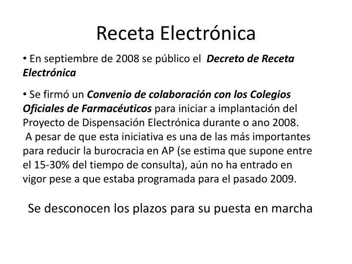 Receta Electrónica