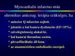 myocardialis infarctus ut n