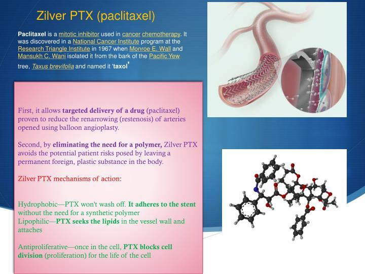 Zilver PTX (paclitaxel