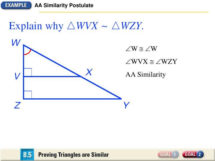 AA Similarity Postulate
