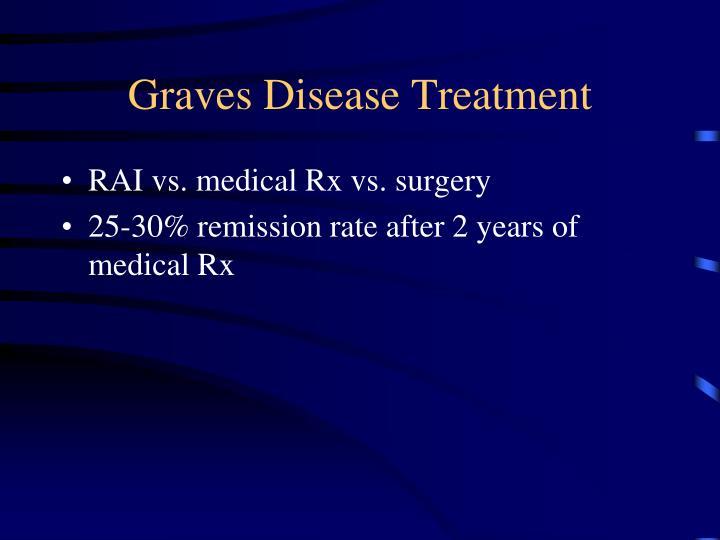 Graves Disease Treatment