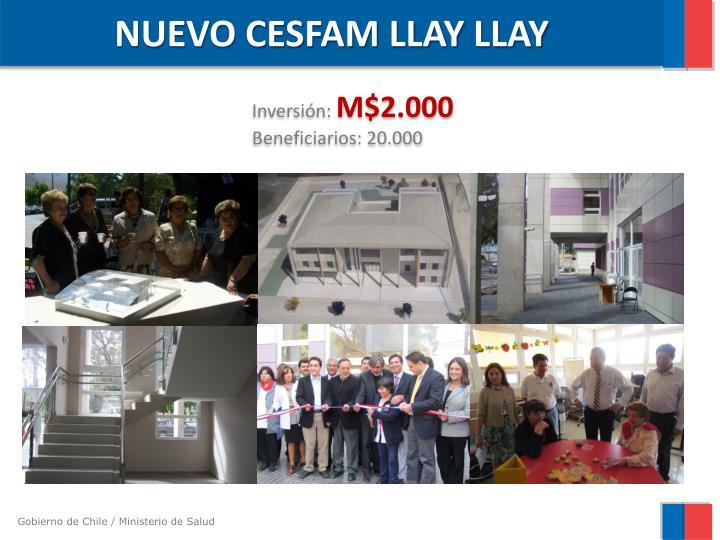 NUEVO CESFAM LLAY
