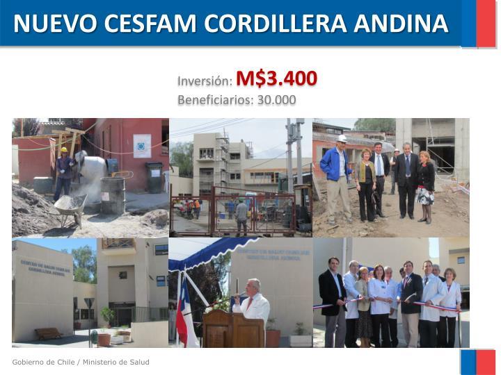 NUEVO CESFAM CORDILLERA ANDINA