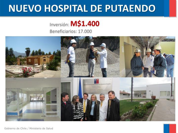 NUEVO HOSPITAL DE PUTAENDO