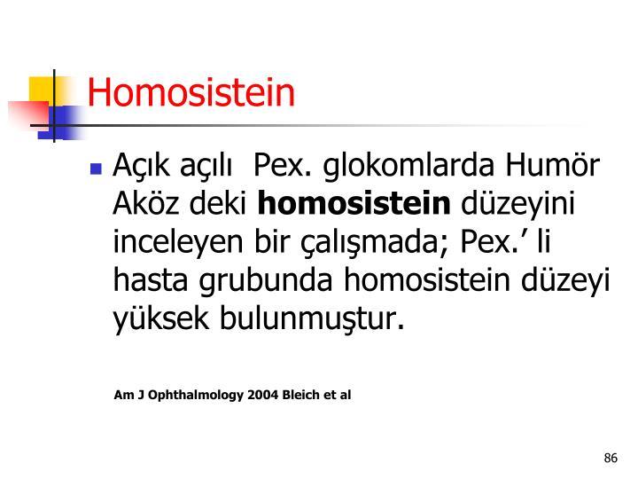 Homosistein