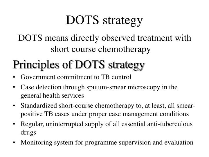 DOTS strategy