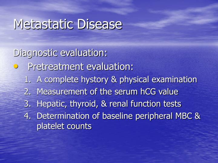 Metastatic Disease