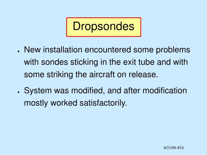 Dropsondes