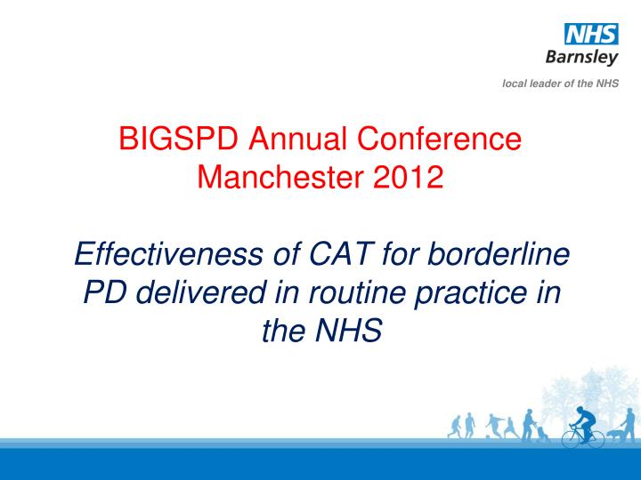 BIGSPD Annual Conference