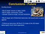 conclusions future1
