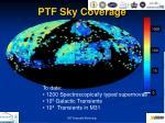 ptf sky coverage