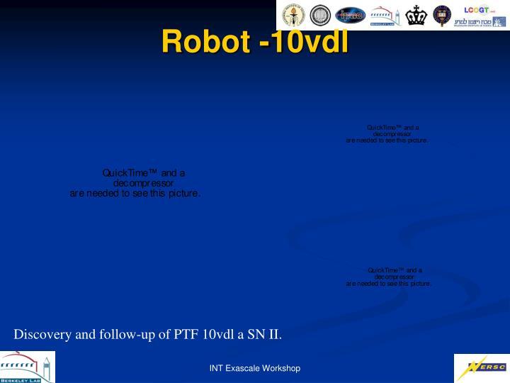 Robot -10vdl