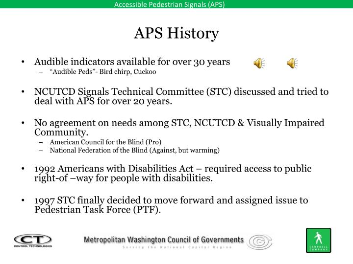 APS History