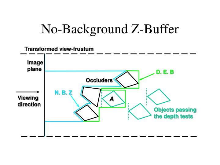 No-Background Z-Buffer