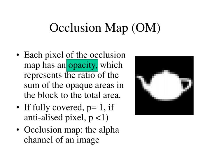 Occlusion Map (OM)