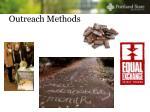 outreach methods