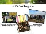 slc s core programs