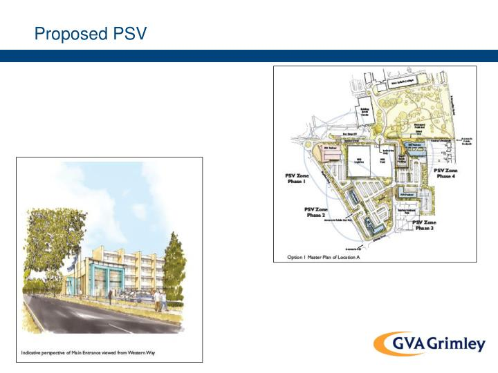 Proposed PSV
