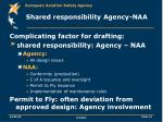 shared responsibility agency naa