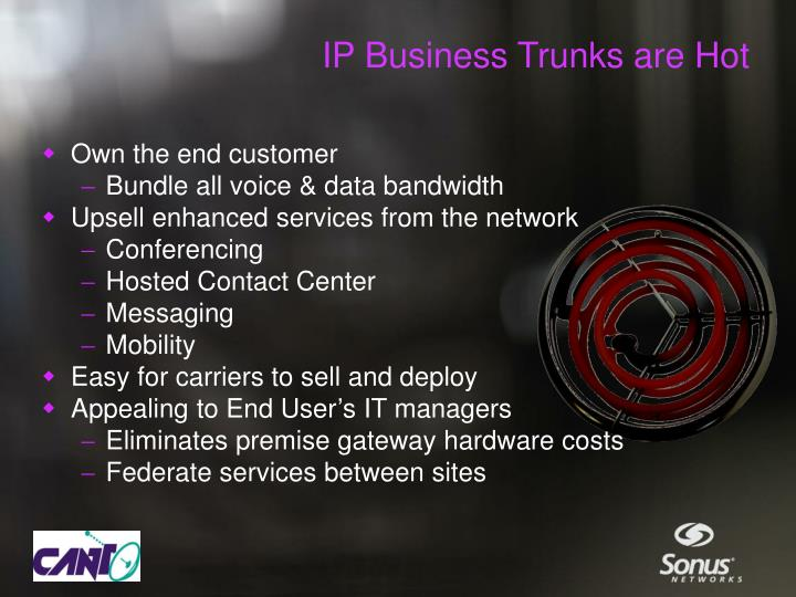 IP Business Trunks are Hot