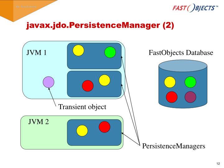 javax.jdo.PersistenceManager (2)