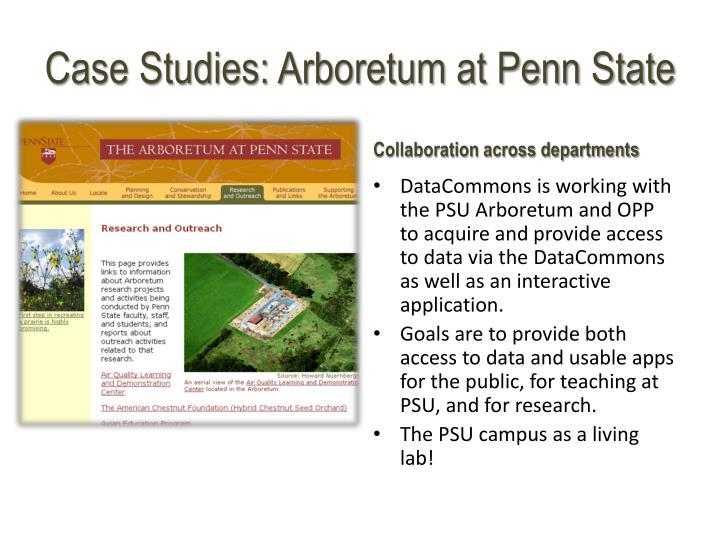 Case Studies: Arboretum at Penn State