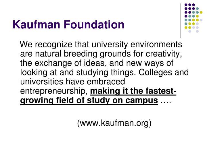 Kaufman Foundation