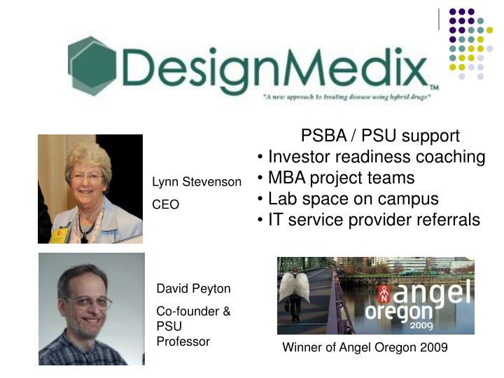 PSBA / PSU support