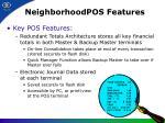 neighborhoodpos features