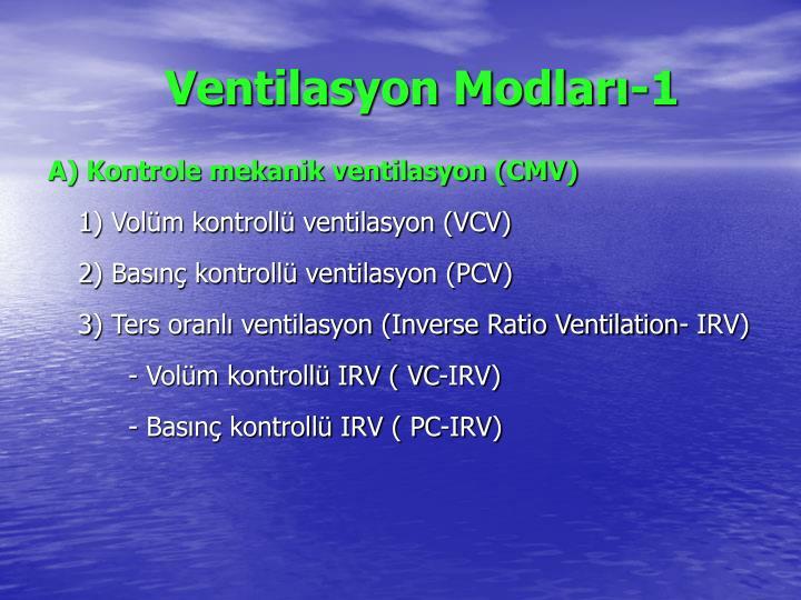 Ventilasyon Modları-1