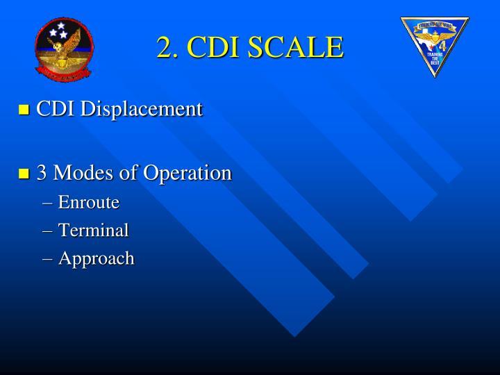 2. CDI SCALE