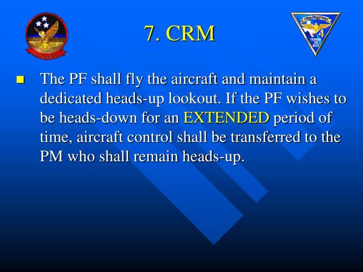7. CRM