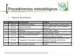procedimentos metodol gicos1