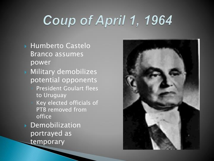 Coup of April 1, 1964