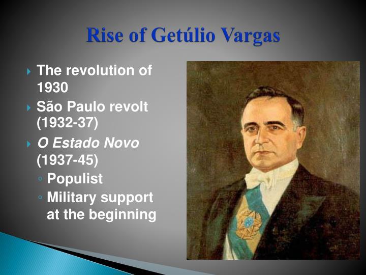 Rise of Getúlio Vargas