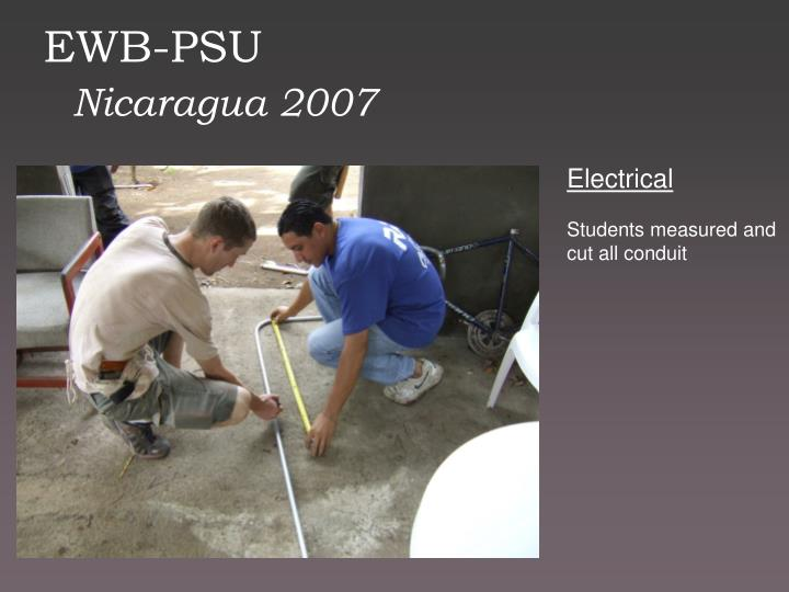 EWB-PSU