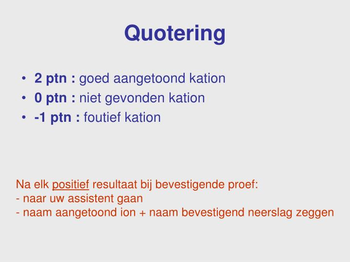 Quotering