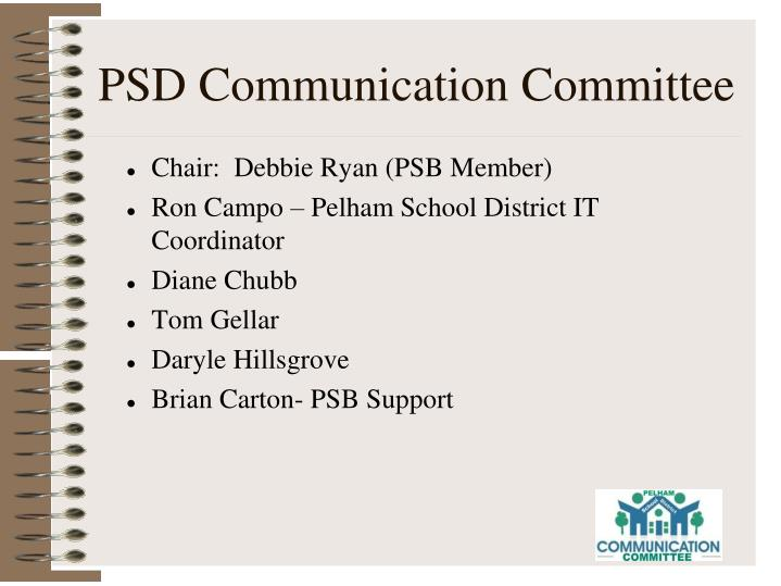 PSD Communication Committee