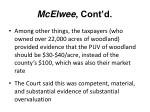 mcelwee cont d