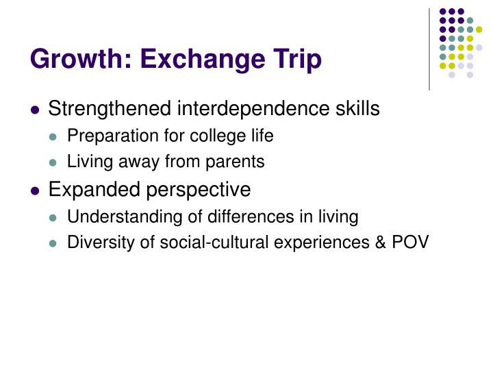 Growth: Exchange Trip