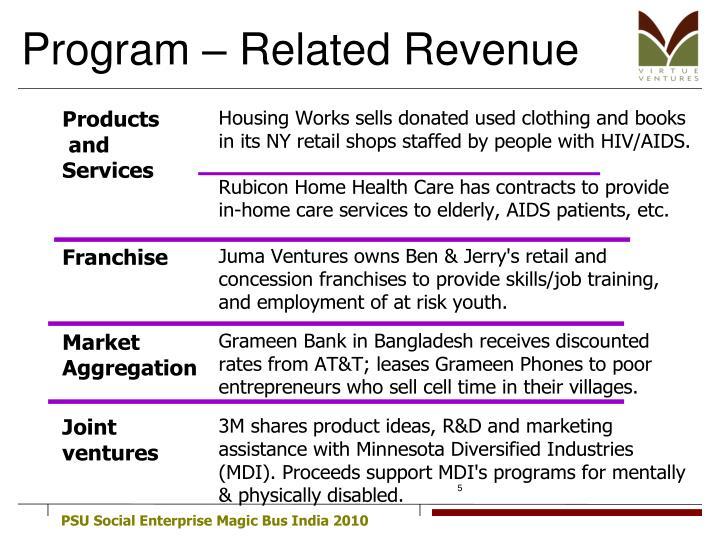 Program – Related Revenue