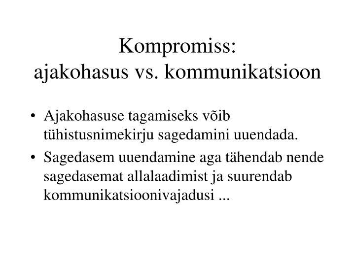 Kompromiss: